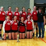 Varsity Volleyball Brings Home 2nd Place Trophy at Belding Invitational