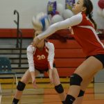 Varsity Volleyball Falls to Morley Stanwood