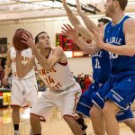 WE are Kent City: Varsity Basketball Scrimmages — Watches Matt Stoll Play at Ferris State