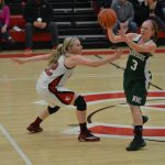 Lady Eagles Win Battle of Top Teams: Defeat Morley Stanwood 58-46