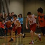 Eagle 8th Grade Basketball Team Splits Games with Newaygo and Morley-Stanwood