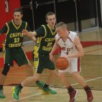JV Boys Basketball Tops White Cloud; 32-29