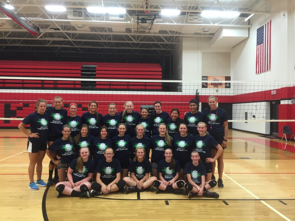 Volleyball camp starts Monday, June 25th for 3rd-8th grade