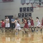 Varsity girls come from behind on the road; beat Cedar Springs, 48-45