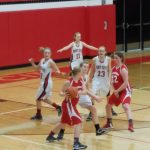 Another close game for the JV Girls Basketball Team