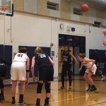 Varsity girls win in White Cloud, 43-30; now 7-0 in the conference