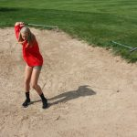 Girls golf concludes season at MHSAA Regional