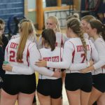 Varsity Volleyball falls to the Indians