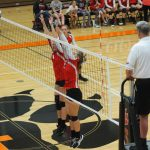 JV Volleyball defeats White Cloud
