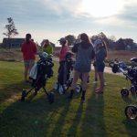 Girls Varsity Golf at Eagle Glen 10/3/17