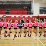 Varsity Volleyball finishes 4th in Dig Pink Invitational