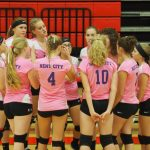 Busy week for the JV Volleyball team