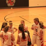 8th Grade Girls Basketball Team plays Grant and Central Montcalm