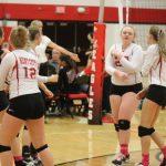Varsity Volleyball finish 1-2 at home quad