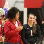 Varsity Volleyball falls short on Senior night to the Mohawks 3-1