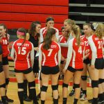 JV volleyball team ends their season