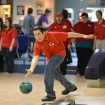 Bowling teams compete against Grand Rapids Northpointe Christian