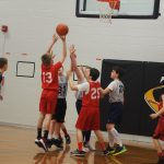 7th Grade Boys Basketball wins one, but comes up short against Big Rapids