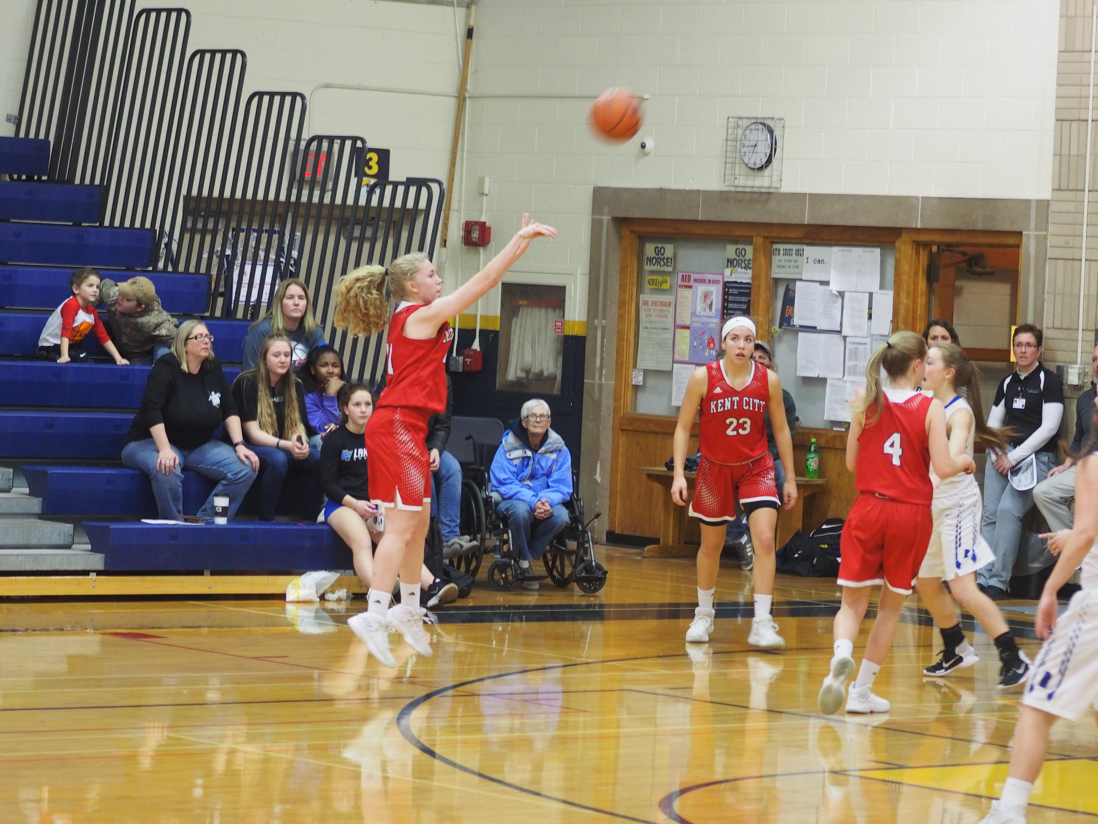 Kent City Girls Basketball earns 4th spot in State Record Books for 3-point Shooting