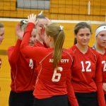 8th Grade Volleyball @ Tri-County -- 3/3/18