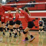8th Grade Volleyball -- 3/10/18