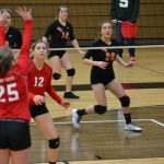 8th Grade Volleyball @ White Cloud -- 3-17-2018