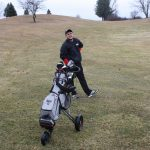 Dombrowski's 39 leads Eagles to a win over Greenville at North Kent Golf Course
