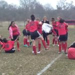 Middle School Girls Soccer vs. Wyoming -- 4-12-2018