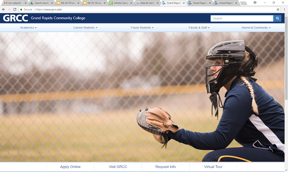 WE are Kent City: Autumn O'Keefe playing softball for Grand Rapids Community College