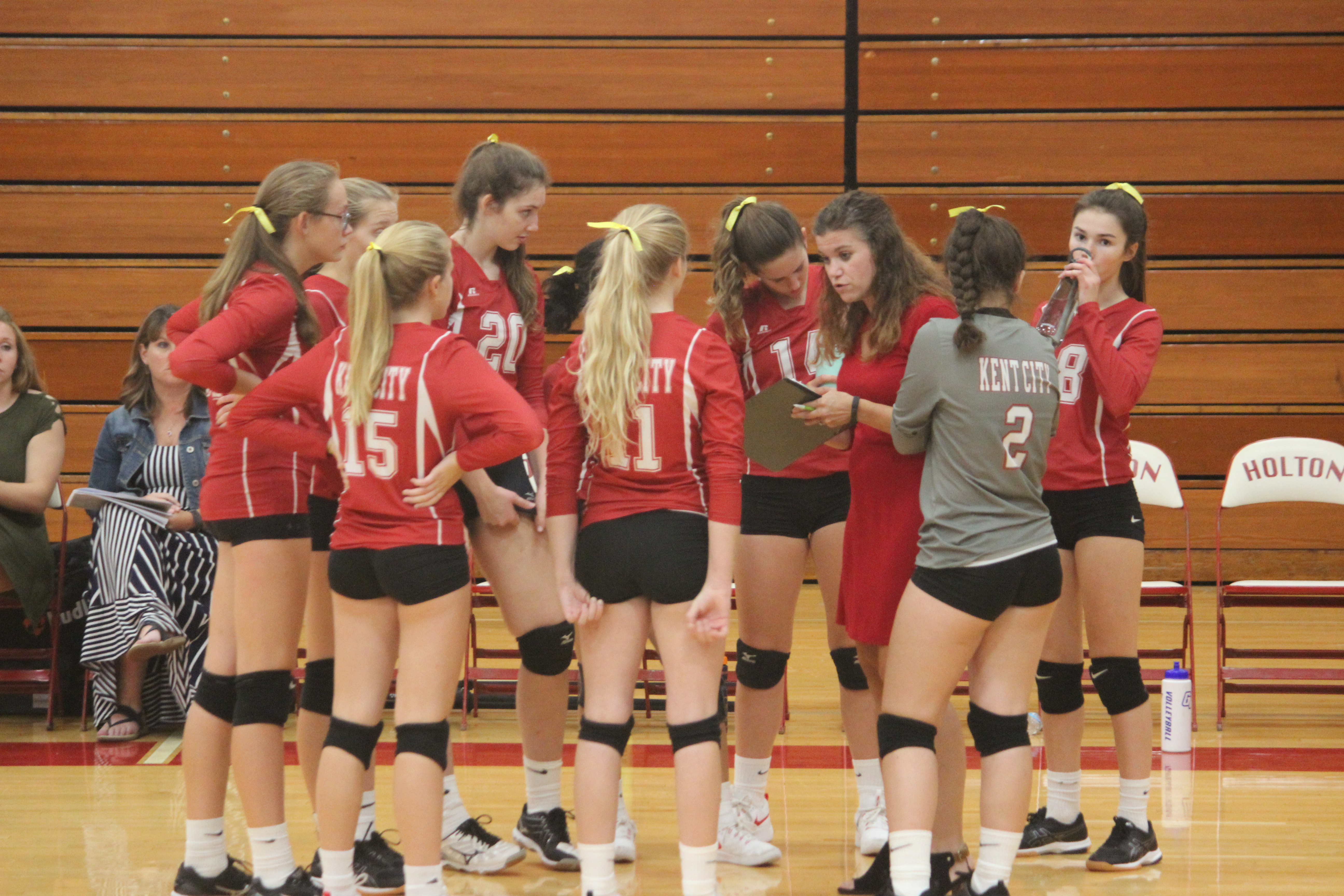 JV volleyball has busy and exciting week