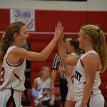 8th girls basketball starts the season 2-0