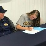 WE are Kent City: Janelle Krueger signs letter of intent to play softball at Sienna Heights