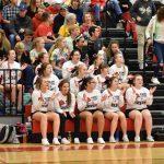 Varsity Basketball Cheer 12/4/18