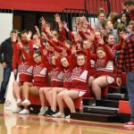 Varsity Basketball Cheer 12/7/18