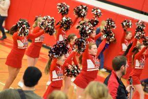 Varsity Basketball Cheer 1/18/19