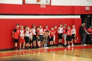 Half Time Basketball Fun during Varsity Game 1-18-19