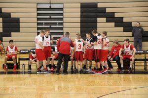 Season Opener 8th grade Boys Basketball vs. Central Montcalm & Reed City 1-19-19