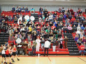 KC Varsity Girls Host Holton (Break a State Record)  Elementary Night 1/18/19