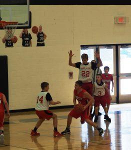 8th Grade Boys Basketball vs Reed City  1/19/19