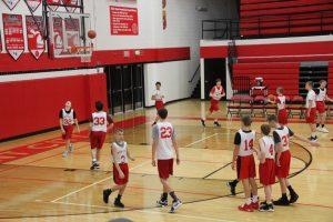 Home Opener for 8th Grade Boys Basketball vs. Fremont 1-23-19