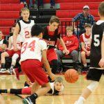 8th Grade Boys Basketball Team defeats Morley Stanwood, 52-39