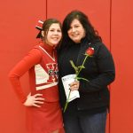 Thank You Parents!  Varsity Basketball Cheer Parents' Night