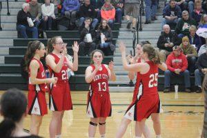 JV Girls Basketball vs.  Central Montcalm 2-26-19