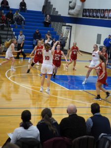 KC beats Holton (3/6/19) to advance to District Finals-and breaks state record!