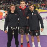 Jones and Russo Earn All-State for KC Wrestling Team
