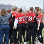 Middle School Softball loses a close one to Holton, 9-8