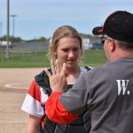 Two Thrilling Wins For Varsity Softball; Loew Delivers a Game Winner!
