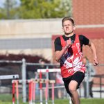 Larson breaks 400m Middle School Record