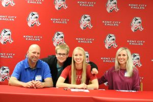 Zara Weber Signs with Olivet College — 5-15-2019