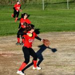 Varsity Softball Sweeps Morley, Clinches 2nd in Conference
